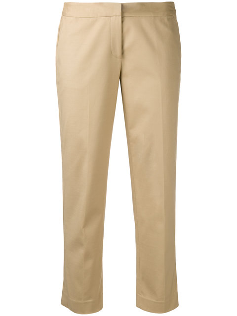 Michael Michael Kors Straight Cropped Trousers