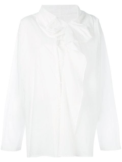 Y's Drape Front Shirt