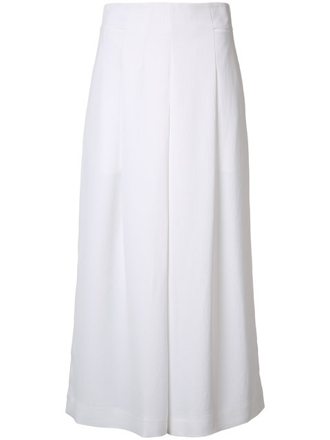 Tibi Flared Cropped Trousers