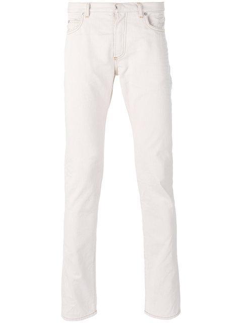 Maison Margiela Five Pocket Trousers In Nude & Neutrals