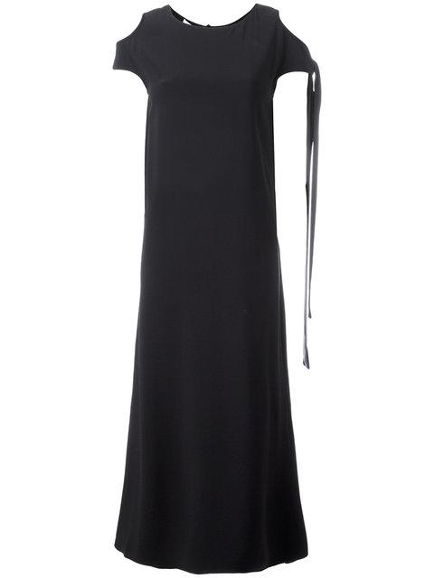 Helmut Lang Cut-Out Shoulders T-Shirt Dress