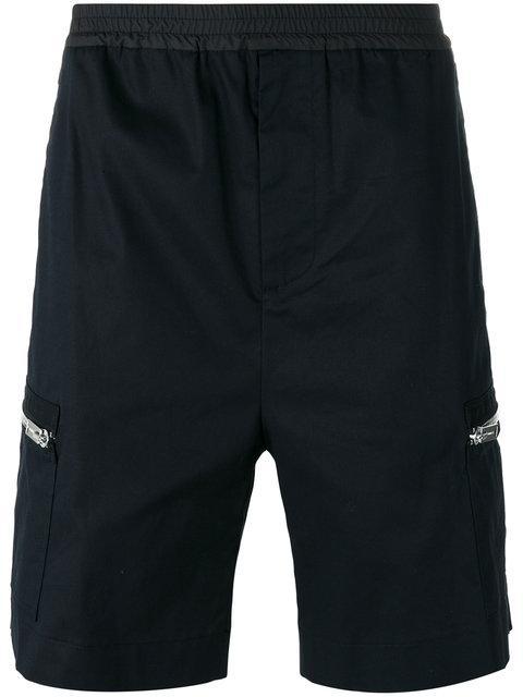 Les Hommes Bermuda Shorts - Black