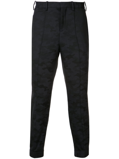 Neil Barrett Camouflage Tailored Trousers