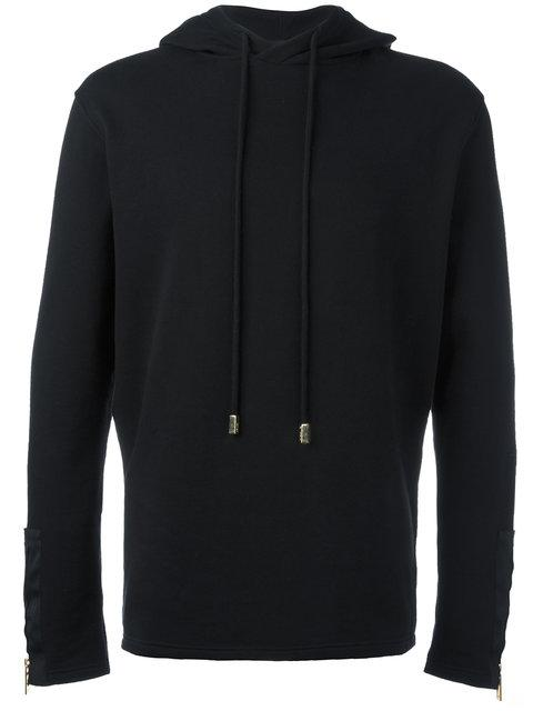 Blood Brother Pace Cotton Hoody In Black