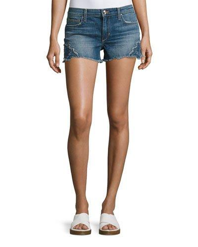 Joe's Jeans Cutoff Denim Jean Shorts, Indigo