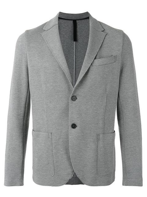Harris Wharf London Patch Pockets Blazer In Grey