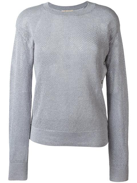 Michael Michael Kors Metallic Thread Sweater
