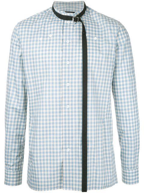 Raf Simons Checked Shirt - Green