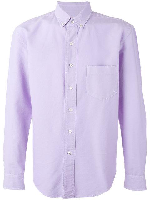 Palm Angels Buttoned Down Collar Shirt