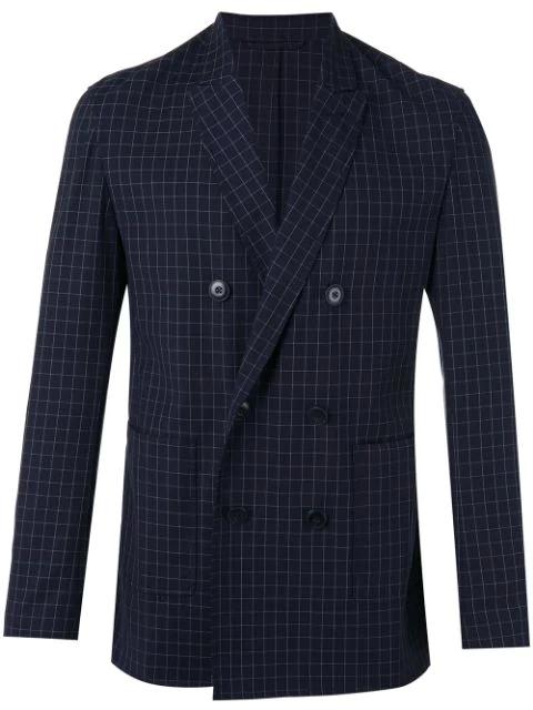 3.1 Phillip Lim Checkered Blazer - Blue
