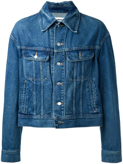 Ambush Embellished Back Denim Jacket