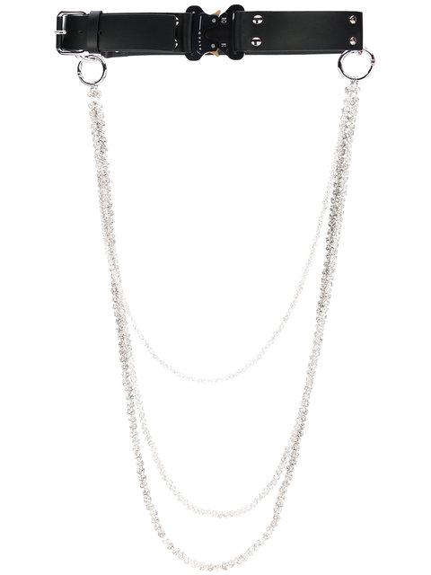 Alyx Rollercoaster Diamond Chain Belt