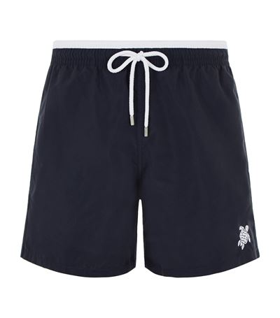 Vilebrequin Moka Bi-Colour Swim Shorts In Blue