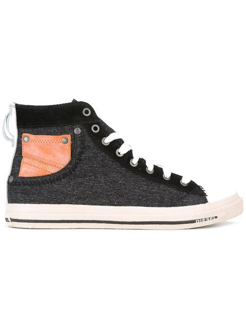 Diesel Exposure Hi-Top Sneakers