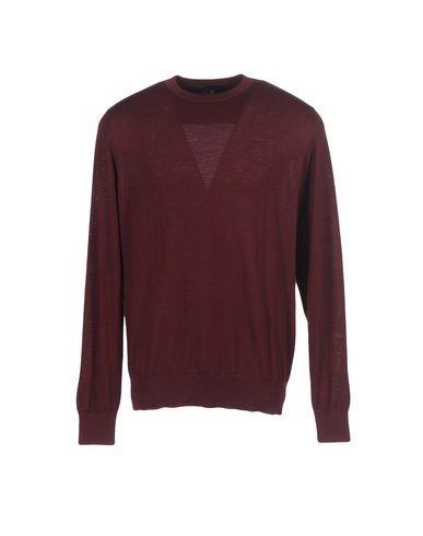 Lanvin Sweaters In Maroon