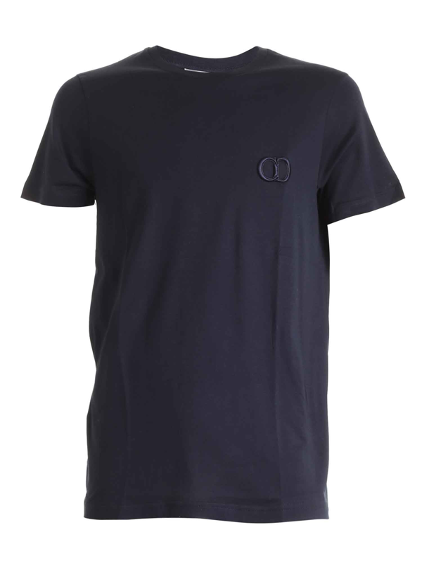 Dior Cd Icon T-shirt In Blue