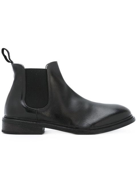 MarsÈLl Round Toe Ankle Boots - Black