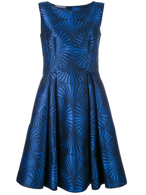 Alberta Ferretti Abito Dress - Blue