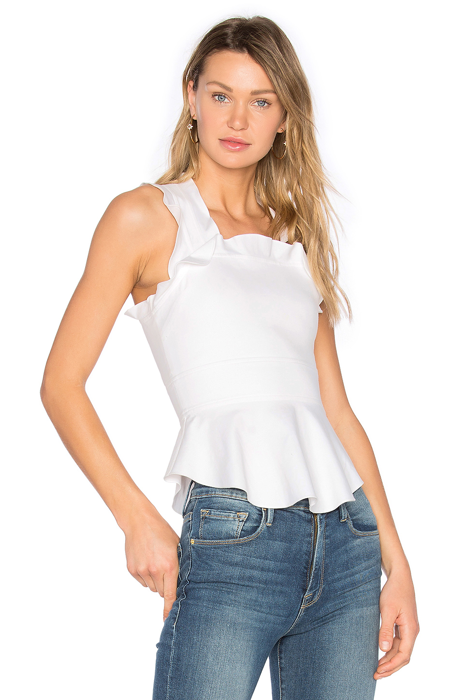 Marissa Webb Zora Blouse In White