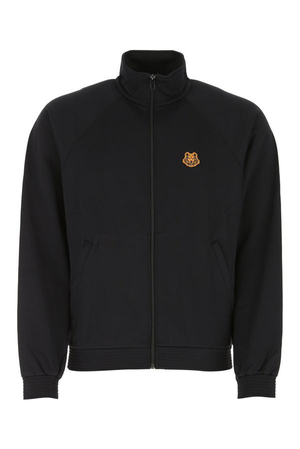 Kenzo Zipped Jacket In Black
