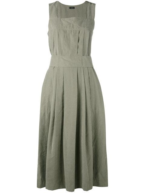 Joseph Pleated Front Dress