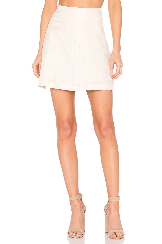 Capulet Giorgia Mini Skirt In Ivory