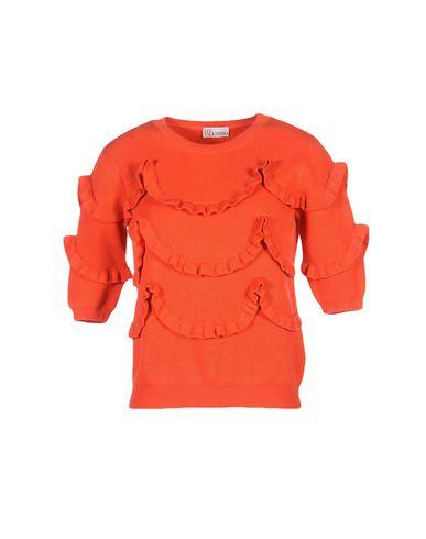 Red Valentino Sweater In Coral