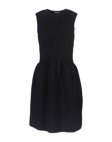 Emporio Armani Knee-Length Dress In Black