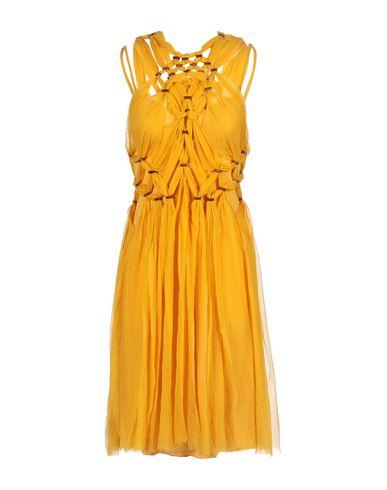 Alberta Ferretti Formal Dress In Ocher
