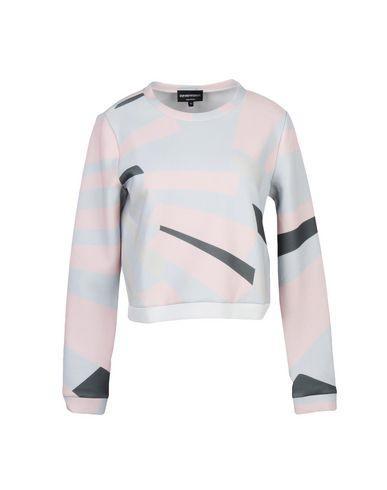 Emporio Armani Sweatshirt In Light Grey
