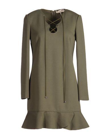 Emilio Pucci Short Dress In Military Green
