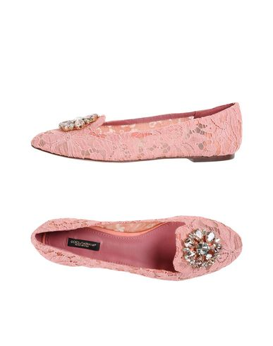 Dolce & Gabbana Loafers In Pink