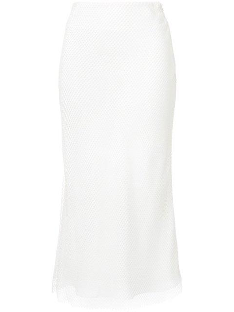 Christopher Esber 'Sheer Grid Reaction' Skirt