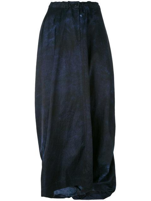 Y's Long Wrap Skirt
