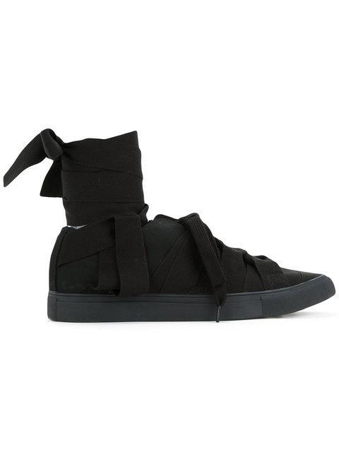 Yohji Yamamoto Lace-Up Sneakers