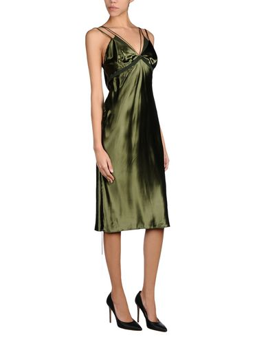 Alexander Wang Formal Dress In Military Green
