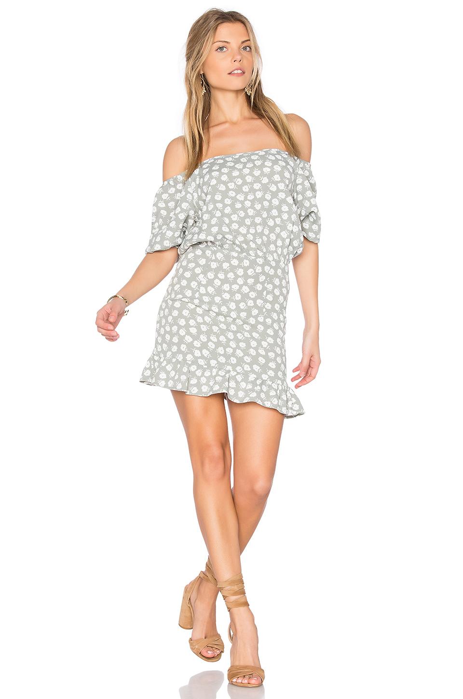 Flynn Skye Kristina Mini Dress In Sage