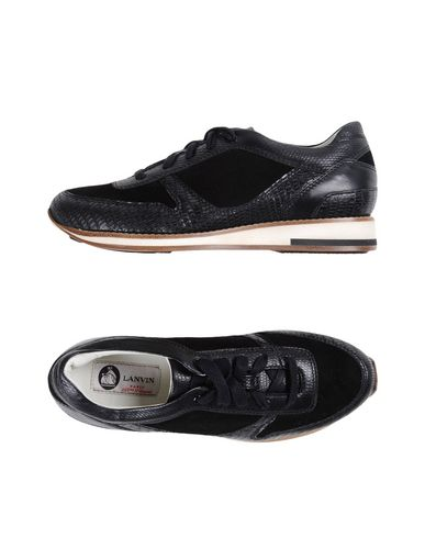 Lanvin Sneakers In Black