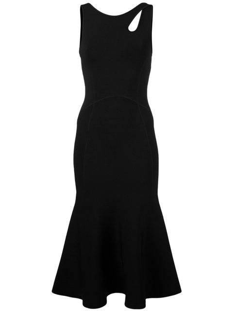 Alexander Wang Sleeveless Cutout Dress - Black