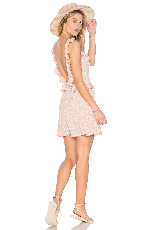 Flynn Skye Mimi Dress In Beige