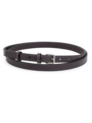 Stella Mccartney Double-Wrap Belt In Cognac
