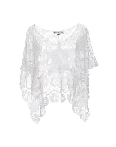 Wildfox Capes & Ponchos In White