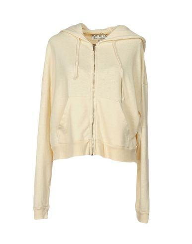 Wildfox Hooded Sweatshirt In Ivory