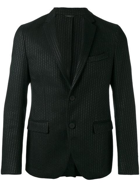 Fendi Textured Two Button Blazer