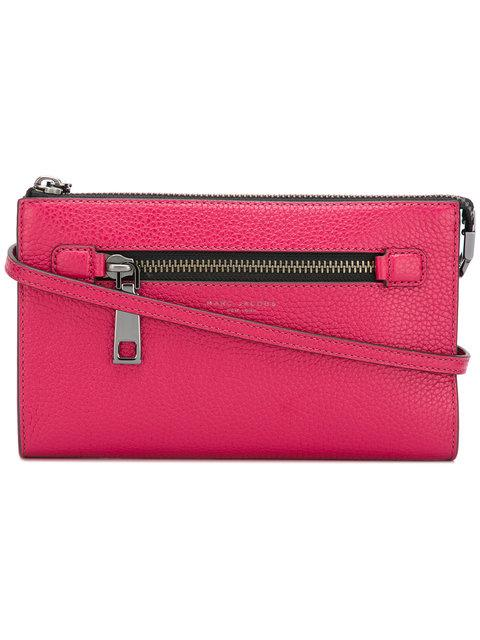 Marc Jacobs Small Gotham Crossbody Bag - Pink In Pink & Purple