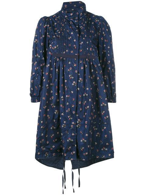Moncler Lauris Short Coat - Blue
