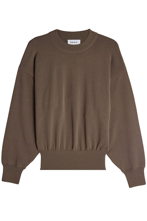 Dkny Knit Pullover In Green