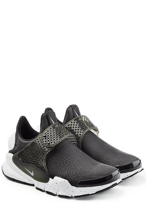 Nike Sock Dart Neoprene Slip-On Sneakers In Black