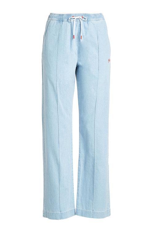 Etre Cecile Atre C &Copy;Cile Denim Track Pants In Blue