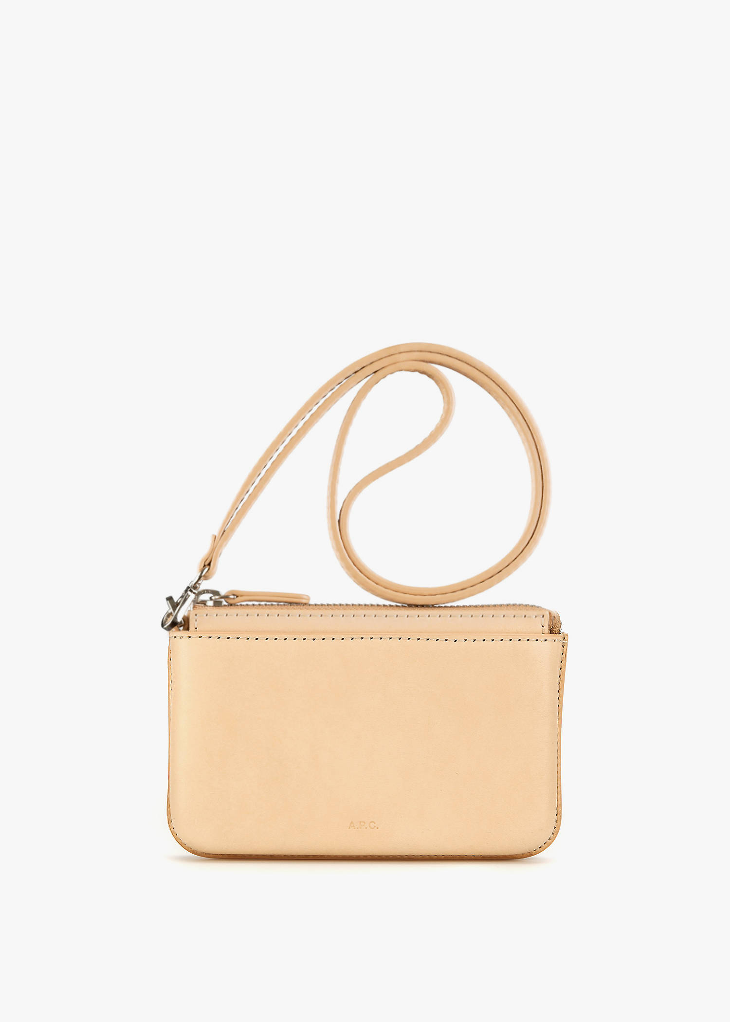 A.P.C. Fred Pouch In Natural Beige
